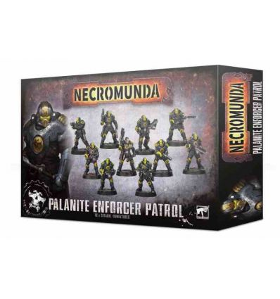 [Necromunda] Palanite Enforcer Patrol