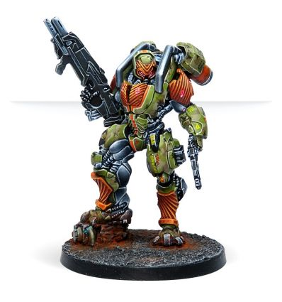 [Infinity] Mówáng Troops (MULTI Rifle/ Red Fury)