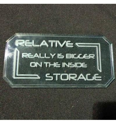 Sign B (Relative Storage)