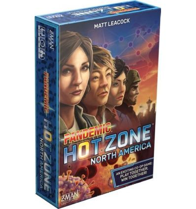 Pandemic Zone Rouge - North America