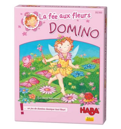 Fée au Fleurs Domino