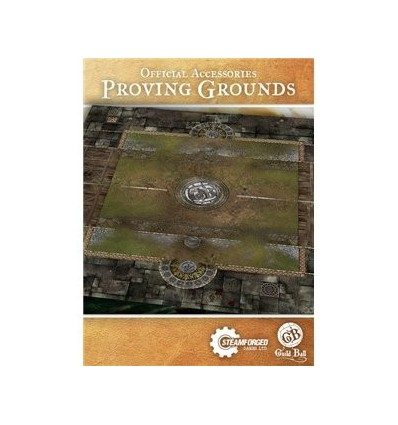 [Guild Ball] Play Mat: Proving Grounds Multiples of 4 only