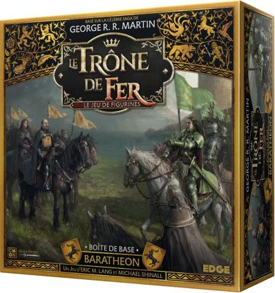 Le Trône de Fer - Le Jeu de Figurines - Boite de Base Baratheon