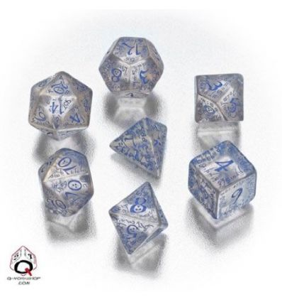 Elvish RPG Dice Set