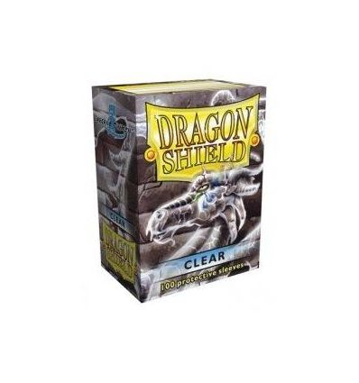 Protection Cartes Dragon Shield : Transparent Format US Classic