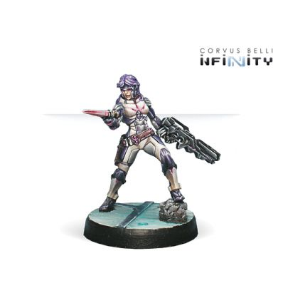 [Infinity] Myrmidon Officer (Combi Rifle, Boarding Shotgun)