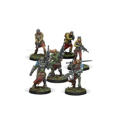 [Infinity] Caledonian Highlander Army (Ariadna Sectorial Starter Pack)